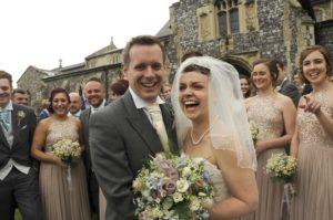 wedding flowers - bride & groom - studio 5